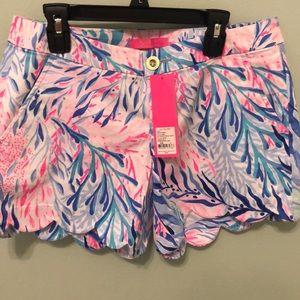 Lilly Pulitzer Callahan Shorts Sz4